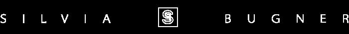 Silviabugner Logo White Transparent Bkg